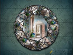Зеркало Тиффани многогранное – DIAMOND-1 | SILVER