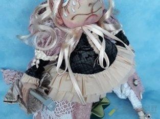 Интерьерная кукла. Тетушка Непогодушка