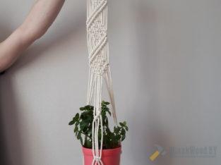 Подвесное кашпо для горшка с цветами.