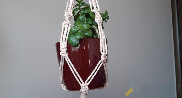 Подвесное кашпо для горшка с цветами