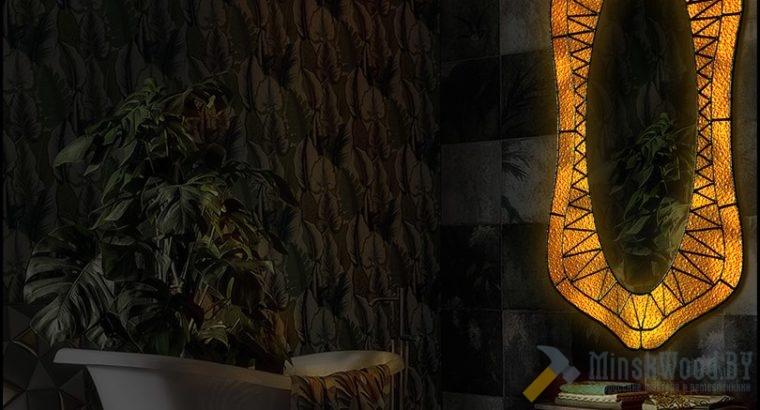 Зеркало Тиффани с подсветкой – ZOMBERRO YELLOW