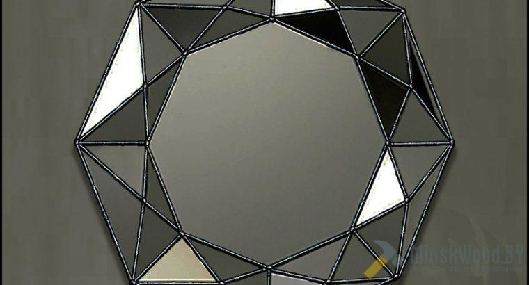 Зеркало Тиффани многогранное – DIAMOND-2 | SILVER