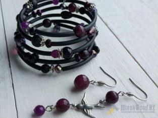 Дизайнерские браслеты ручной работы