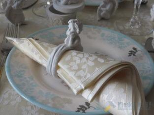 Кольца для салфеток с ангелочками