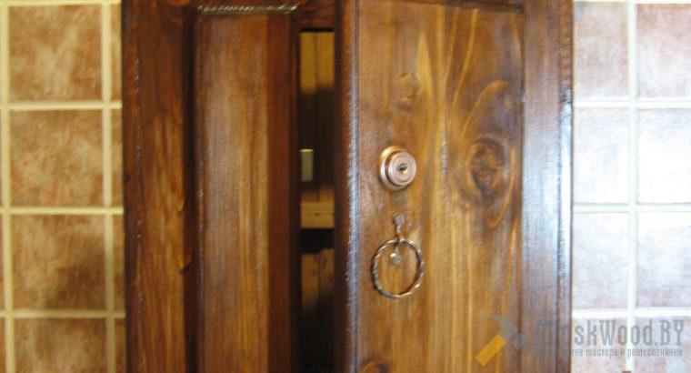 Ящик почтовый из дерева