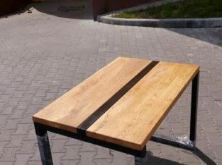 Стол, табуретка и скамейка в стиле лофт