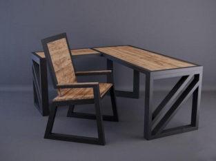 Стол, стул. Мебель лофт под заказ