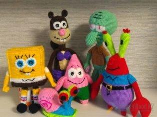 Губка Боб и его друзья.