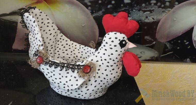 Пасхальная курочка для яиц