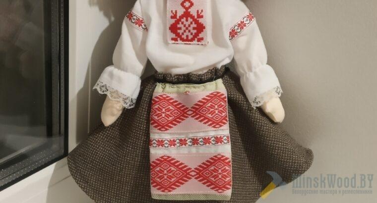 Текстильная кукла Белорусочка