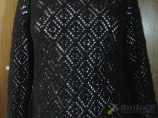 Пуловер ажурный 46-52 размера
