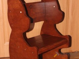 Детские стульчики в форме животных